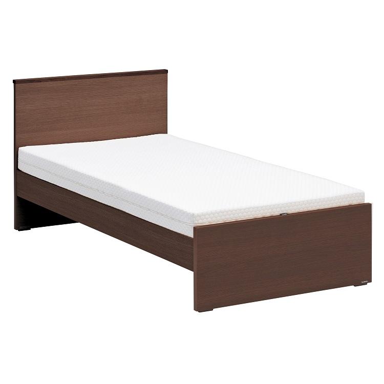 Mofmo NW11 シングルベッドセット(寝装品付) モカブラウン ミルキーホワイト