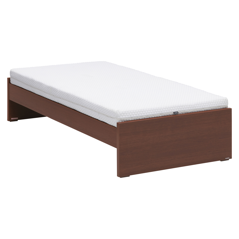 Mofmo NW10 シングルベッドセット(寝装品付) モカブラウン ミルキーホワイト