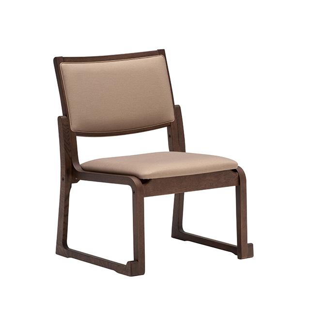 高座椅子(高め) CS4605 シャイニーベージュ モカブラウン