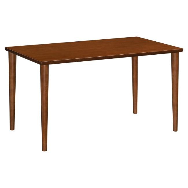 ダイニングテーブル 幅130cm D36494 ウォールナット 天板/オーク材