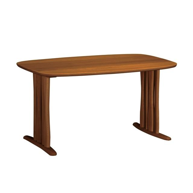 ダイニングテーブル 幅135cm DF4722 ローストビーチ