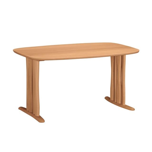 ダイニングテーブル 幅135cm DF4722 ピュアビーチ