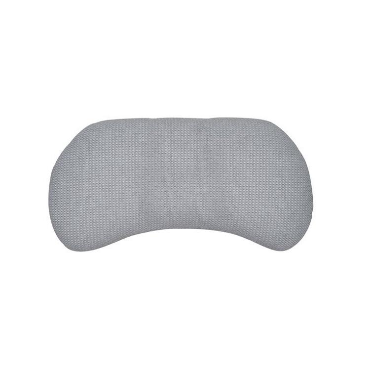 そら豆型枕(ロー) 枕カバーセット KN0100 アイボリー