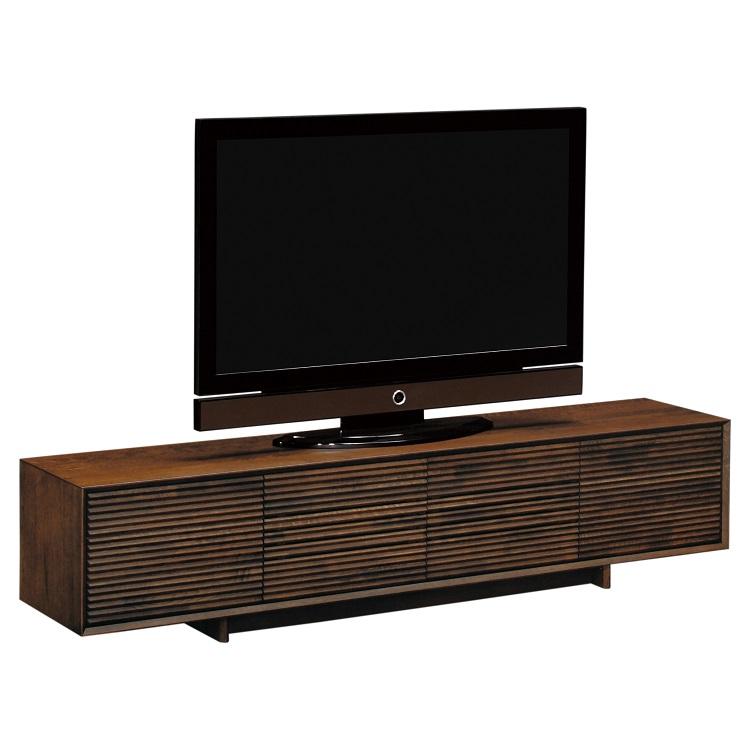 テレビボード 幅204cm QT7017 モカブラウン
