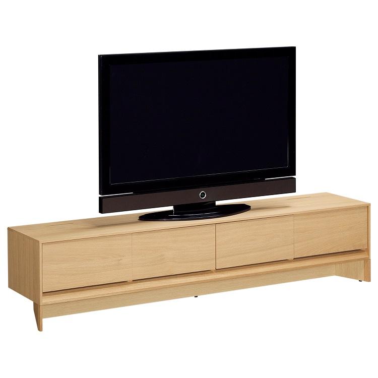 テレビボード 幅205cm QW7007 ピュアオーク