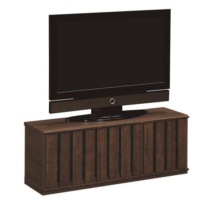 テレビボード 幅123cm QW9391 モカブラウン
