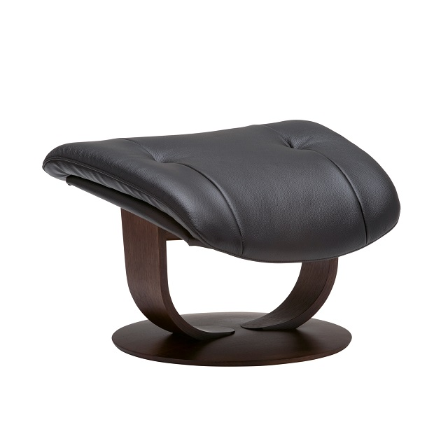オットマン(S) RU0201 ブラック モカブラウン