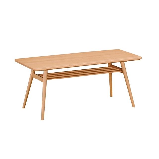 リビングテーブル 幅105cm TD3610 ピュアビーチ